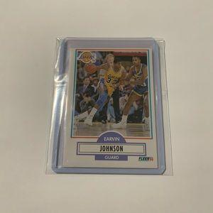 Magic Johnson '90 Fleer Card